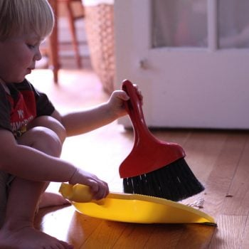 Friday Question: Do your kids help with household chores?