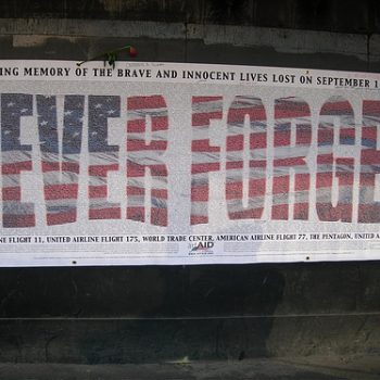 NEW YORK, USA: Sept 11, 2001 – Never Forget!