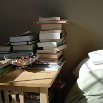 Saturday Sidebar:  What book is on your nightstand?