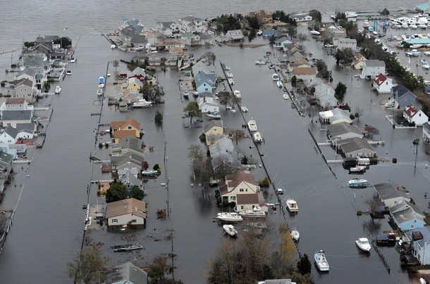NEW JERSEY, USA:  Hurricane Sandy