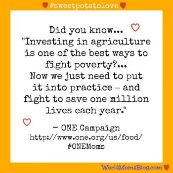 SOCIAL GOOD: It's Sweet Potato Day with #ONEMoms!