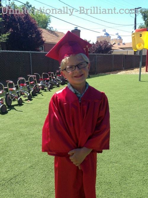 NEVADA, USA: Kindergarten Commencement