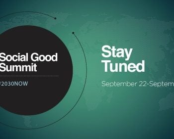 SOLD OUT!! Social Good Summit NYC #2030Now