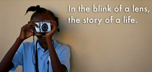 SOCIAL GOOD: View Finder Workshop, putting the camera in the kids' hands