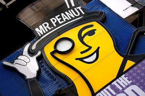 NEW JERSEY, USA: Goodbye Mr. Peanut