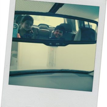 TEXAS, USA: Rear-view Mirror