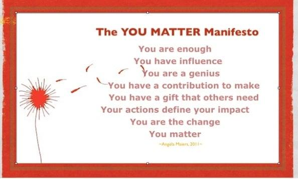 SOCIAL GOOD: Helping Kids Choose2Matter