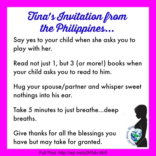 PHILIPPINES: An Open Letter To The Mom Who Wants To Do It All…