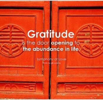 TEXAS, USA: The Attitude of Gratitude