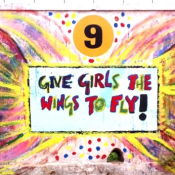 INDIA: #DayOfTheGirl Celebrating Girlhood With Murals In School