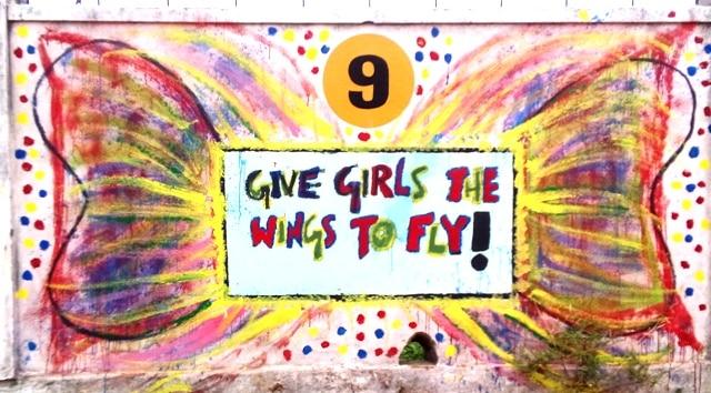 INDIA: #DayOfTheGirl Celebrating Girlhood With Murals In School