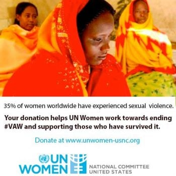 Sponsored: UN Women Has Vital Impact on Women Worldwide #GivingTuesday