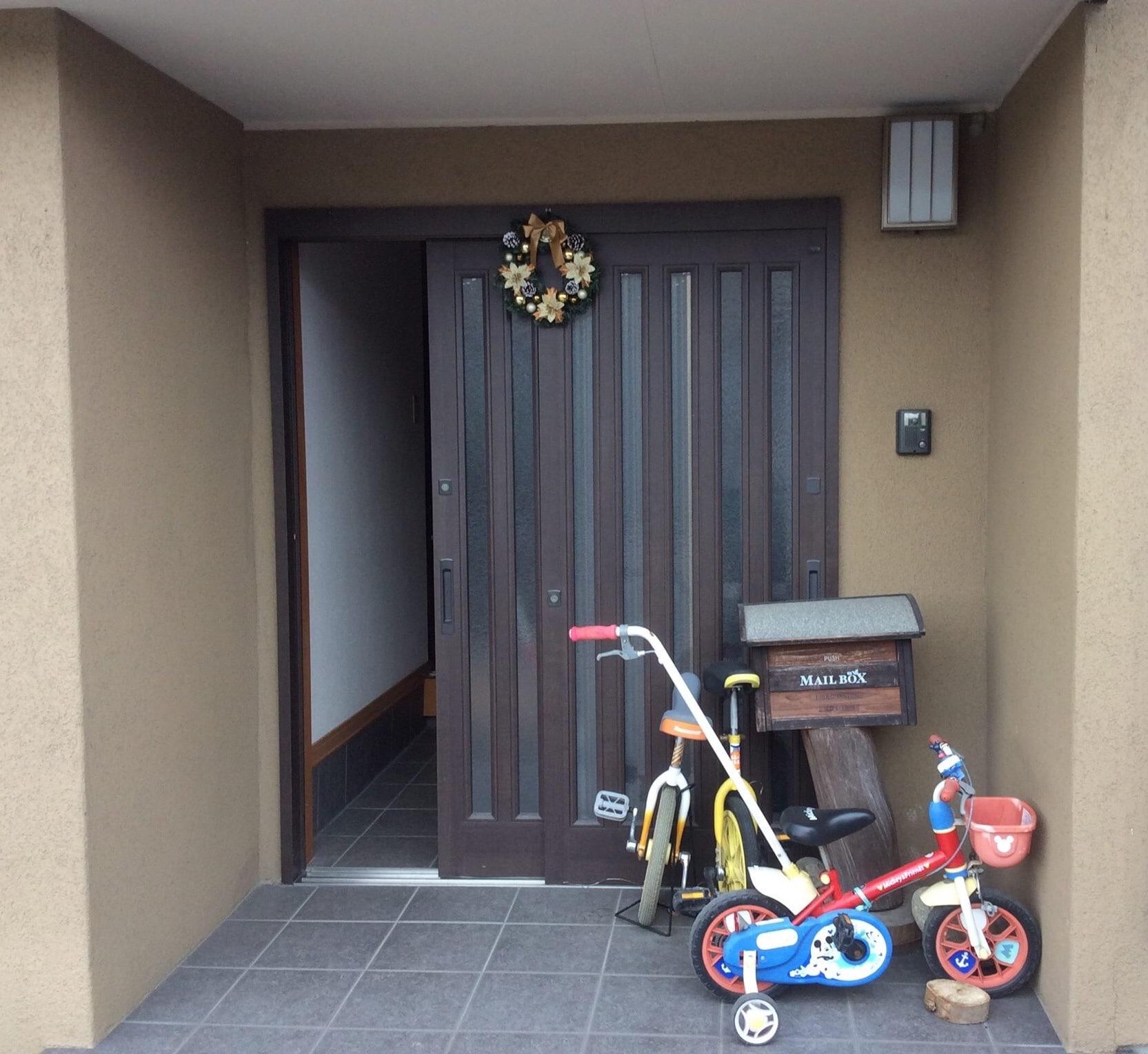 JAPAN:  The Glass Door