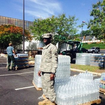 USA: Waiting for Water After Hurricane Joaquin
