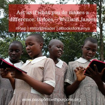 WORLD VOICE: Passports with Purpose bringing #BooksforKenya