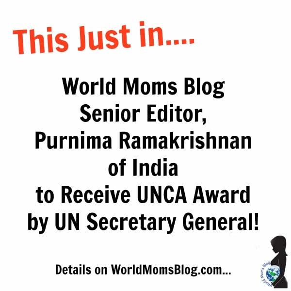 BIG NEWS!!! UN Secretary General to Present World Mom of India with UNCA Award