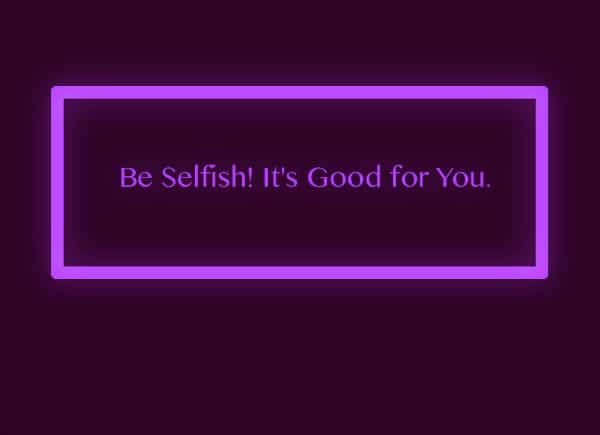 USA: Selfish Self – Finding the Balance