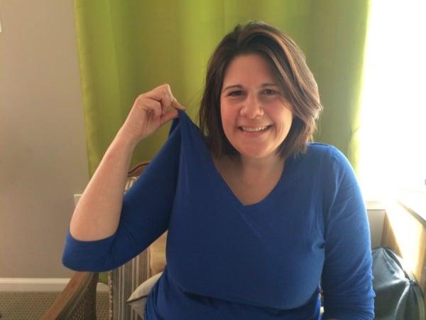 World Mom, @JenniferBurden, is on @BabyCenter Today! #Blue4Water