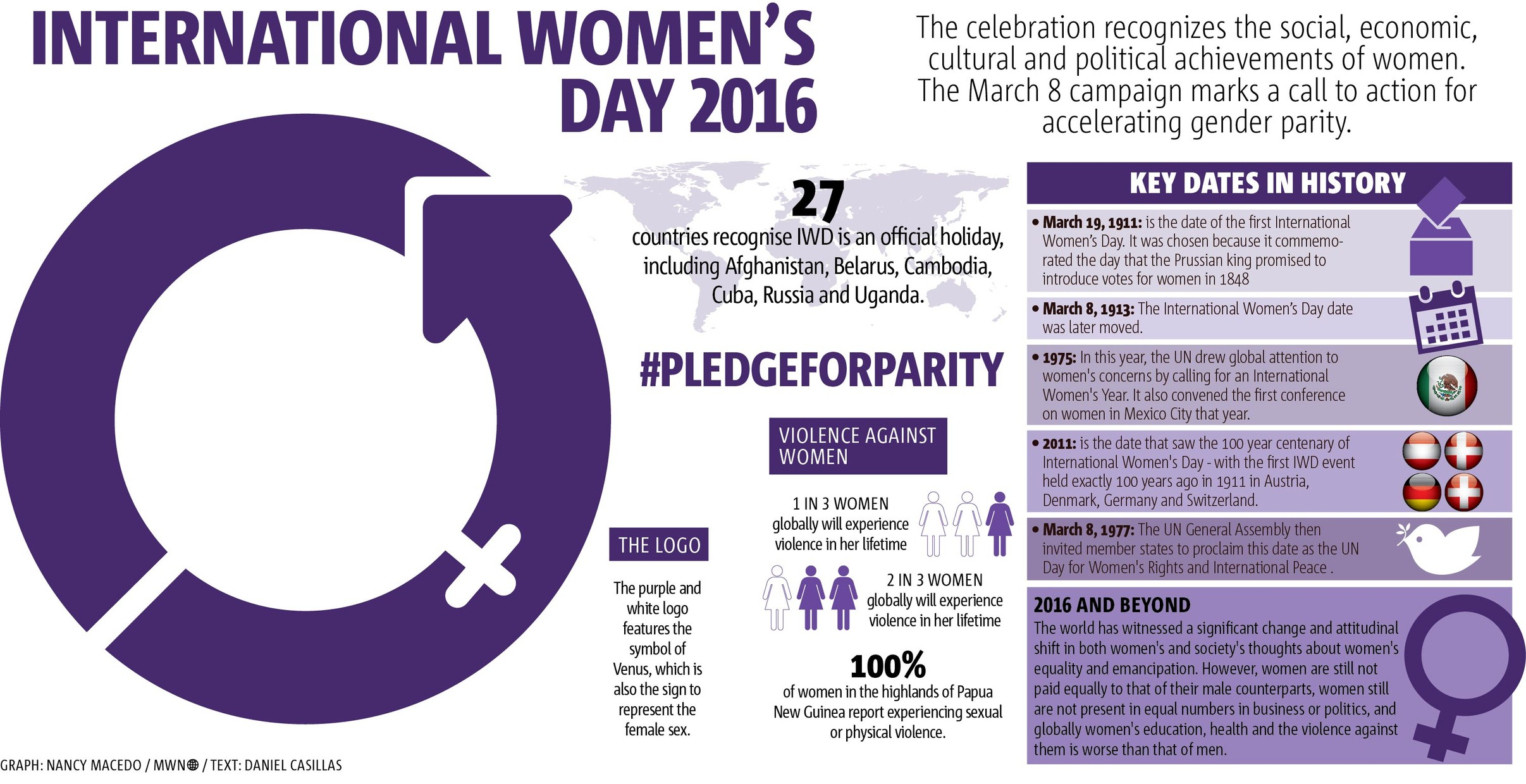 WORLD VOICE: International Women's Day 2016: Taking Action for Gender Parity