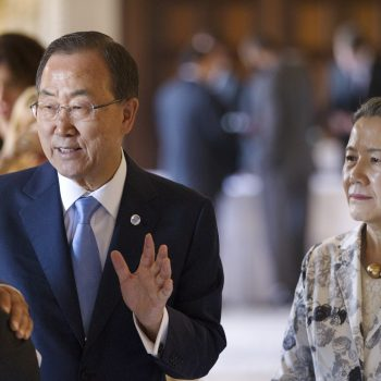 MADAGASCAR: The Day I met Ban Ki-moon