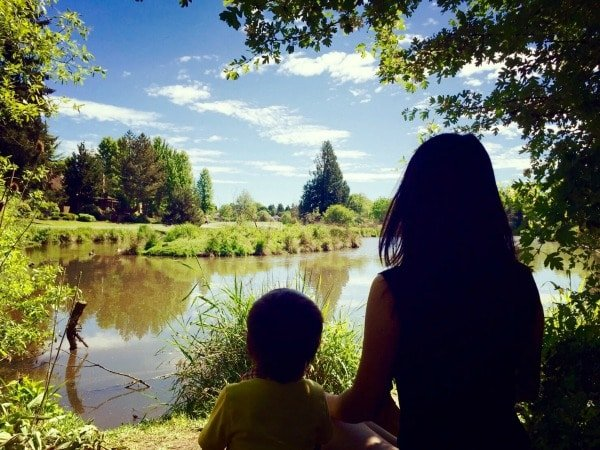 USA: Meditating With My Terrible Two