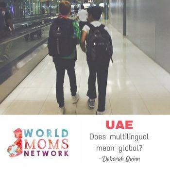 UAE: Does multilingual mean global?