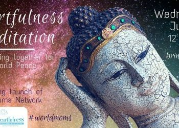 How to join our Heartfulness Meditation today 12pm EST!