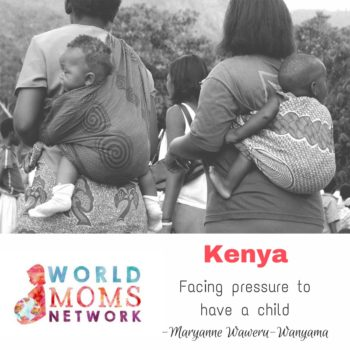 KENYA: Facing pressure to have a child