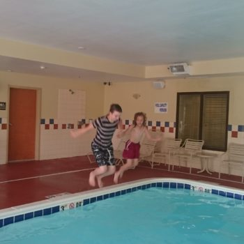 CANADA: Autism – Overcoming Fear Of Water