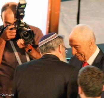 ISRAEL: Goodbye, Shimon Peres