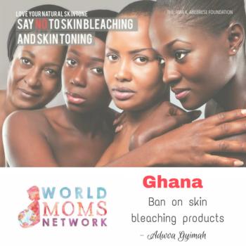 GHANA: Ban on Skin Bleaching Products
