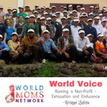 World Voice: Running a Non-Profit – Exhaustion and Endurance