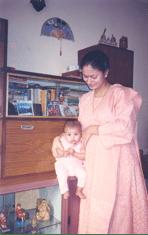piya and baby