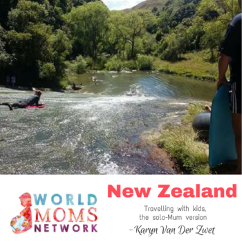 NEW ZEALAND: Travelling With Kids, The Solo-Mum Version