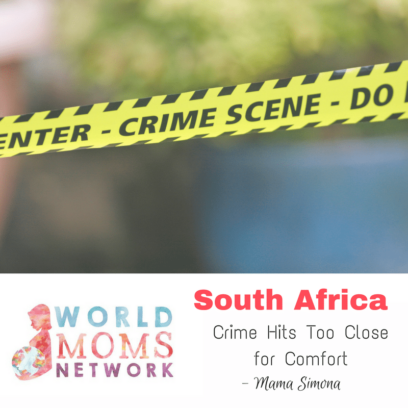 SOUTH AFRICA: Crime Hits Too Close for Comfort