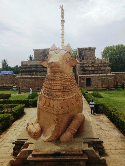 The Welcoming Nandi Statue