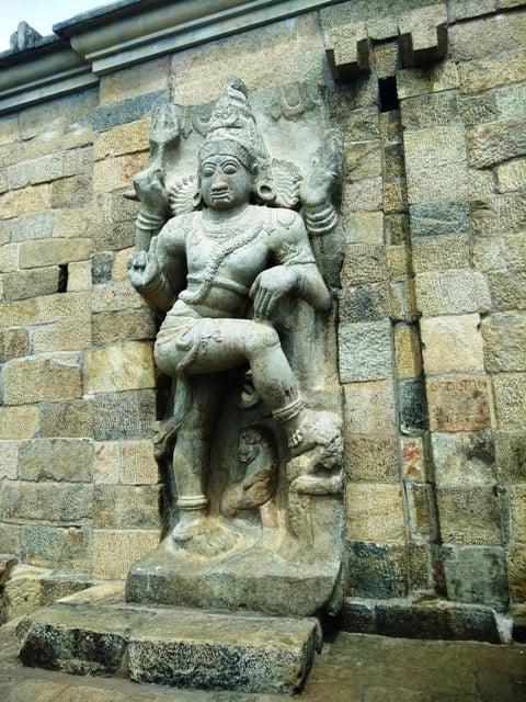 The World Famous Dancing Nataraja Statue