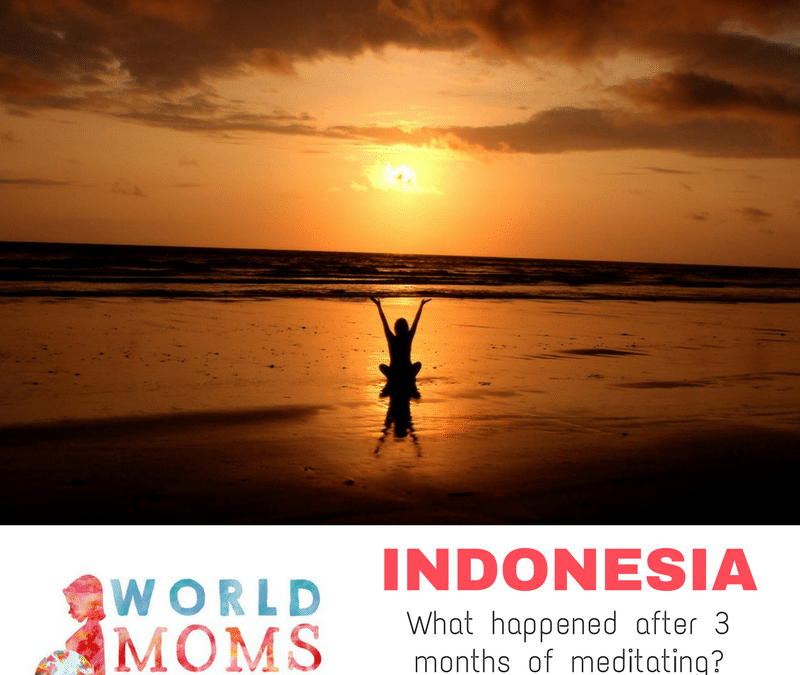 INDONESIA: What I Learn From Meditating for 3 Months Straight