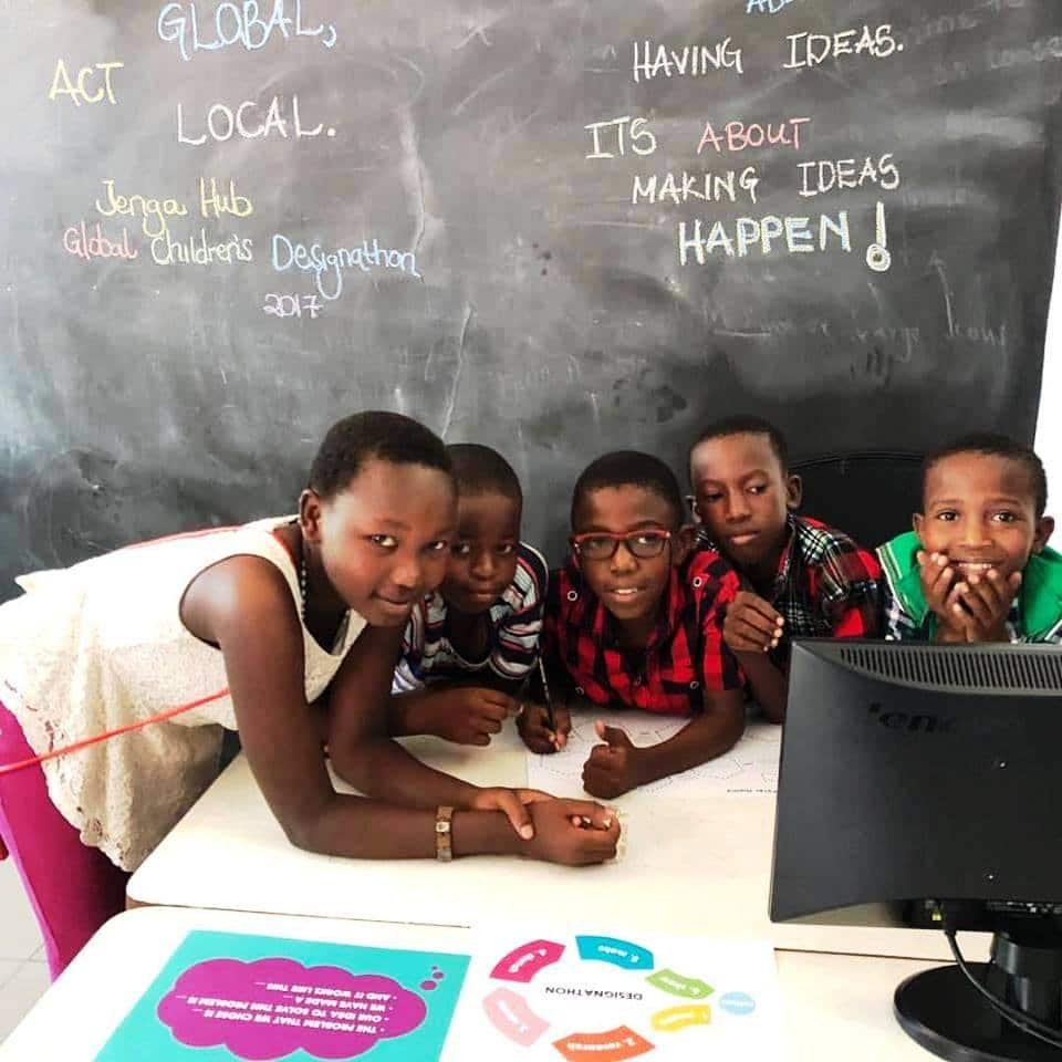 Nancy Sumari's community, where she works for children's education