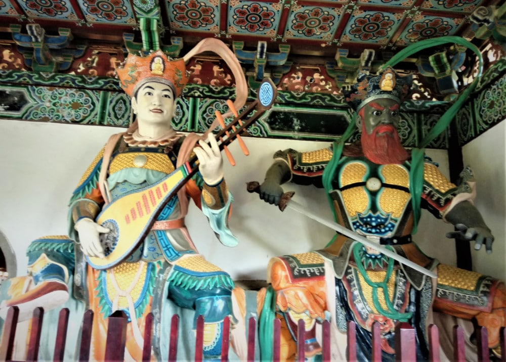 Guardians of the Chinese Monastery