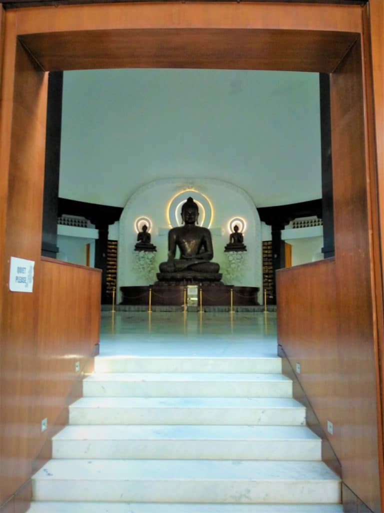 Inside the Peace Pagoda
