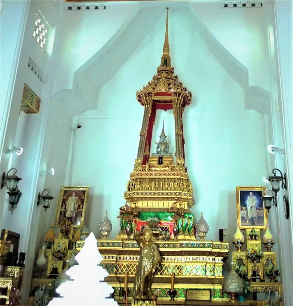 Insides of the Thai Monastery