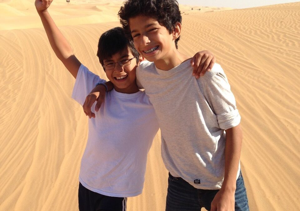 Raising Kids in Abu Dhabi: Adolescent Boredom and Expanded World Views?